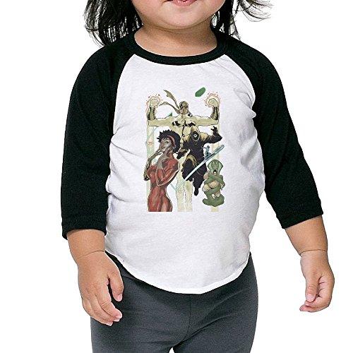 [Cayonom Child Kids Iron Fist Misty Knight Poster Baseball Raglan Jersey 5-6 Toddler] (Iron Fist Costumes For Kids)