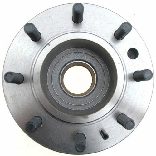 ACDelco 18A725A Advantage Non-Coated Front Disc Brake Rotor and Hub Assembly