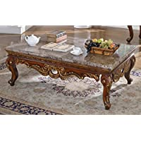 Meridian Furniture Loretto Marble Coffee Table