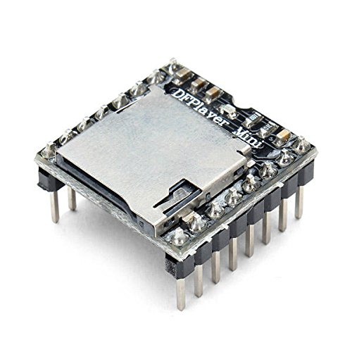 DFPlayer Mini MP3 Player Module For - Arduino Compatible SCM & DIY Kits Module Board - 1 x DFPlayer Mini MP3 Player Module For Arduino ()
