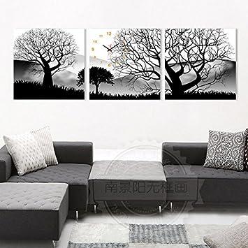 OLILEIO Modernes Wohnzimmer Einrichtung Jong Wanduhr Schlafzimmer  Wandbilder Hängenden Bild Kunst Ohne Box Painting Wall