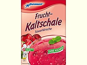 Kaltschale Sauerkirsche Komet ohne Kochen ++ DAS Ostprodukte Geschenk – DDR Traditionsprodukt und Ossi Kultprodukt – Geschenk