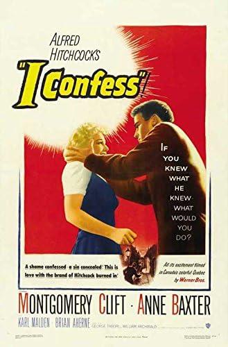 """Amazon.com: I Confess POSTER (11"""" x 17""""): Posters & Prints"""