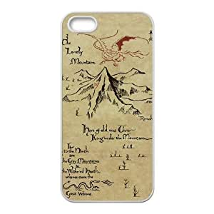 The Hobbit iPhone 5 5s Cell Phone Case White Phone Accessories SH_603253
