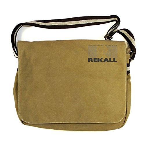 Canvas Vintage Bag Total Recall Despatch Rekall Sahara ZtwHHBq