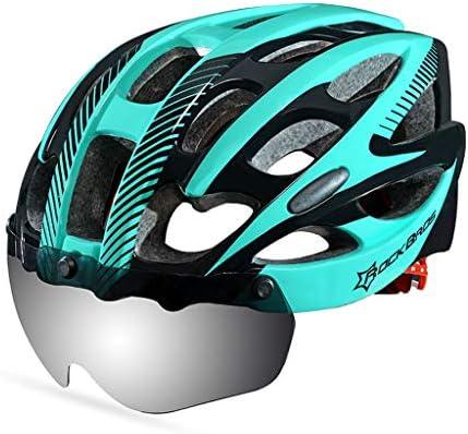 Lilongjiao Casco de Bicicleta para Hombres Mujeres con Seguridad ...