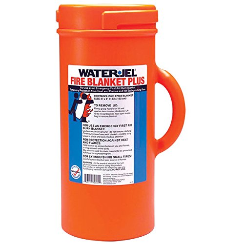 Water Jel Fire Blanket - Fire Blanket In A Canister