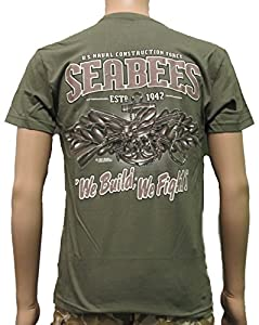7.62 Design USN Seabees Shirt - OD Green