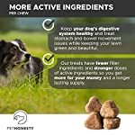 PetHonesty GrassGreen Grass Burn Spot Chews for Dogs - Dog Pee Lawn Spot Saver Treatment Caused by Dog Urine - Cranberry, Apple Cider Vinegar, DL-Methionine Grass Treatment Rocks - 90 Chew Treats 16
