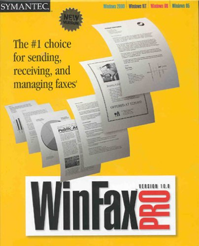 WinFax Pro 10.0 by Symantec