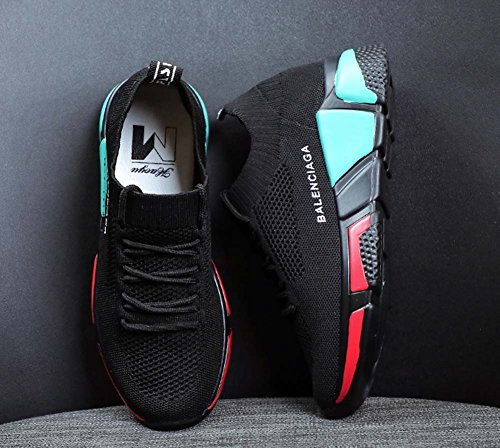 Zapatos De Mujer Zapatos De Tacón De Cuña Con Tacón Alto Aumento Ocasional En Pequeños Zapatos Black
