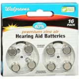 Hearing Aid Batteries, Zero Mercury #675 - 3PC