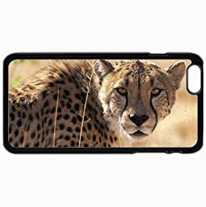 Customized Cellphone Case Back Cover For iPhone 6 Plus, Protective Hardshell Case Personalized Design Black
