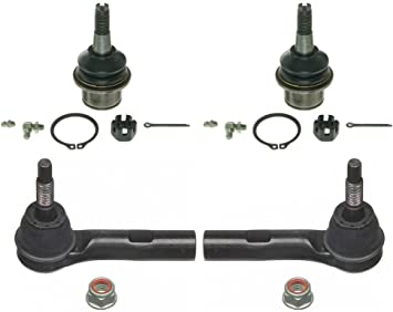 Prime Choice Auto Parts TRK3048-CK628 Two Ball Joints and Two Tie Rod Ends