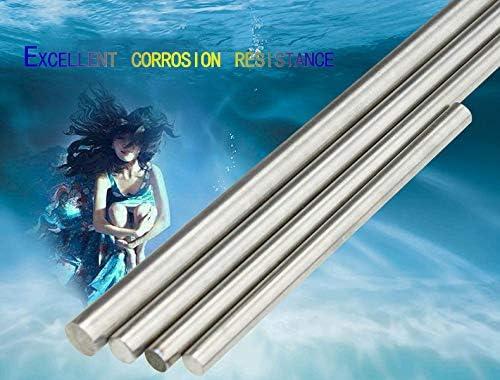 SQINAA Titanium Round Rod Metal Titanium 50x100mm Shaft Rod for Aerospace Chemical Shipbuilding Industries, 1 Pieces,50x100mm