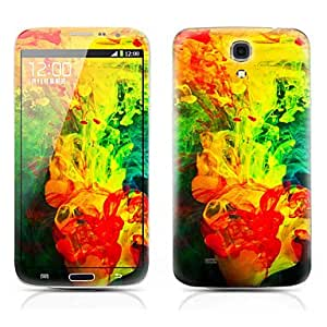 Nsaneoo - Painting Pattern Front and Back Protector Stickers for Samsung Galaxy Mega 5.8 I9150