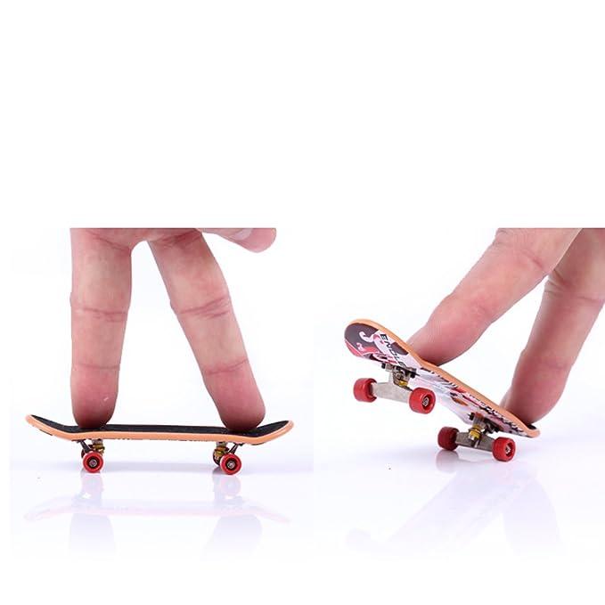 Extra Wheels and Screws Skate! Finger Skateboard