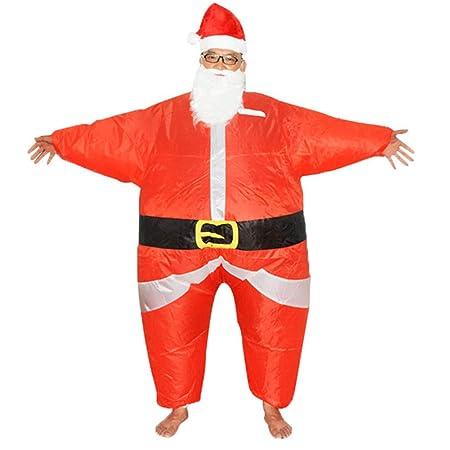 LLVV Disfraz de Papá Noel Inflable Disfraz de Papá Noel Disfraz de ...