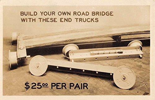 Chicago Illinois Timken Bearing Bridge Real Photo Antique Postcard K85263 (Postcard Bearing)