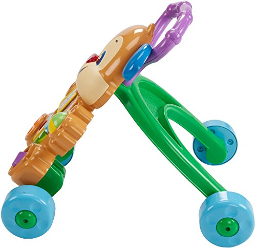 51DT6BwiZWL - Fisher-Price Laugh & Learn Smart Stages Learn with Puppy Walker