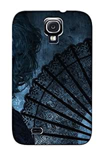 Case Provided For Galaxy S4 Protector Case Mysterious Woman Phone Cover With Appearance BY supermalls