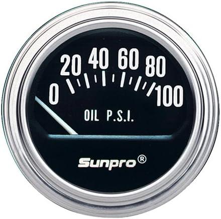 Sunpro CP7005 Sport ST 2 Electrical Water/Oil Temperature Gauge ...