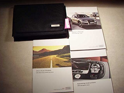 2014 Audi Q5, SQ5 with infotainment/MMI booklet Owners Manual