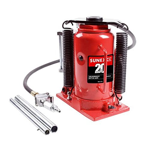 Sunex 4920CAH 20-Ton Air Hydraulic Bottle Jack - 20 Ton Air