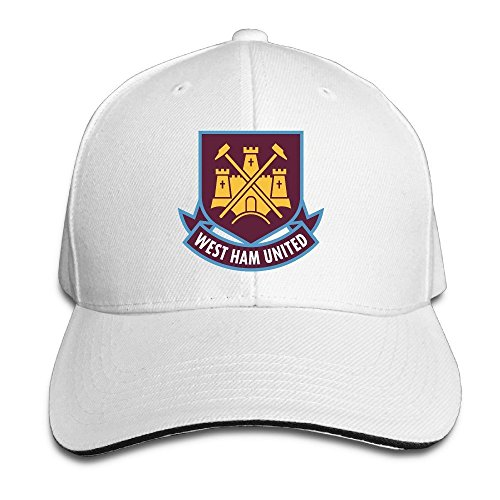 MaNeg West Ham United Fc London Logo (1) Sandwich Peaked Hat & - Fendi Shop London