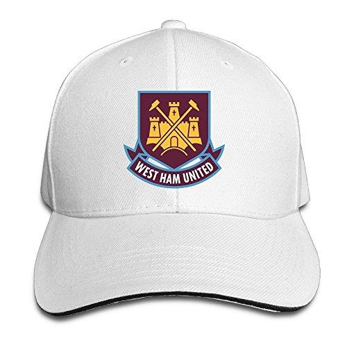 MaNeg West Ham United Fc London Logo (1) Sandwich Peaked Hat & - Shop Fendi London