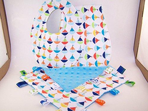 Baby Honorarium Set Sailboats Theme