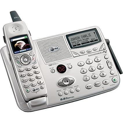 amazon com at t e5965c 5 8 ghz dss expandable cordless phone with rh amazon com VTech Cordless Phones GE Cordless Phones