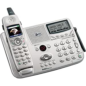 AT&T E5965C 5.8 GHz DSS Expandable Cordless Phone with Answering System