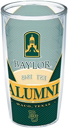 - Tervis 1222766 Baylor Bears Alumni Insulated Tumbler with Wrap, 16 oz - Tritan, Clear