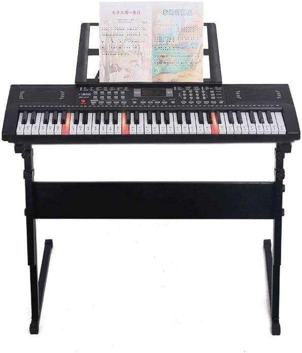HXGL-piano Teclado Inteligente para Niños Iluminación Y Tocar ...