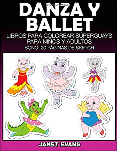 📕 Epub books descarga gratis Danza y Ballet: Libros Para Colorear ...