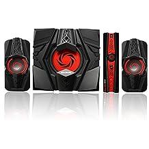AVerMedia Ballista Unity Gaming Speakers, 2.1 Audio Sound System Speakers, 40 Watts, (GS310)