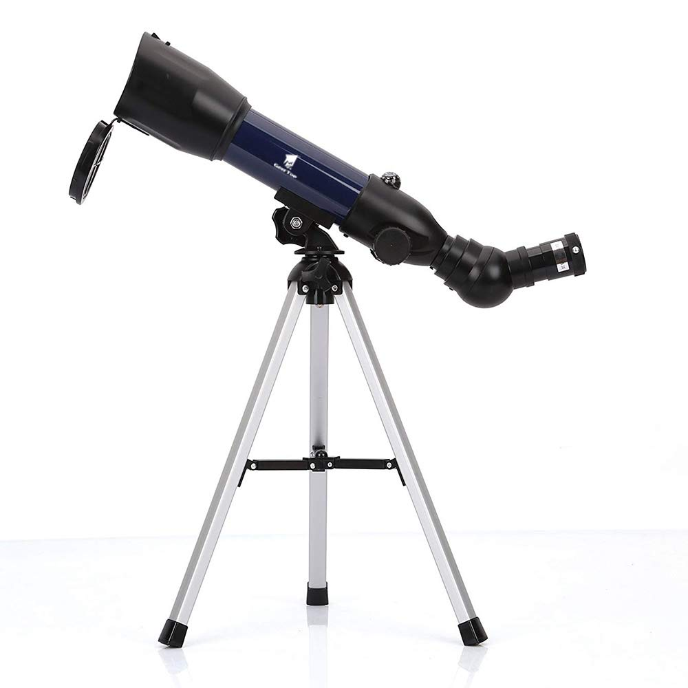 GeerTop Astronomical Refractor Telescope with Tabletop Tripod & Compass, 360 X 50mm, Perfect for Kids Sky Gazers & Birds Watching