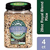 RiceSelect Royal Blend with Flaxseed Rice, 28-Ounce (Pack of 4)