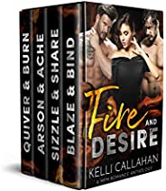 Fire & Desire: A MFM Romance Anthology (Surrender to T