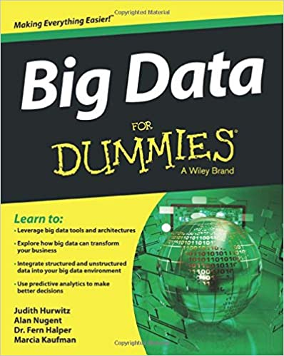 Portada libro Big Data For Dummies