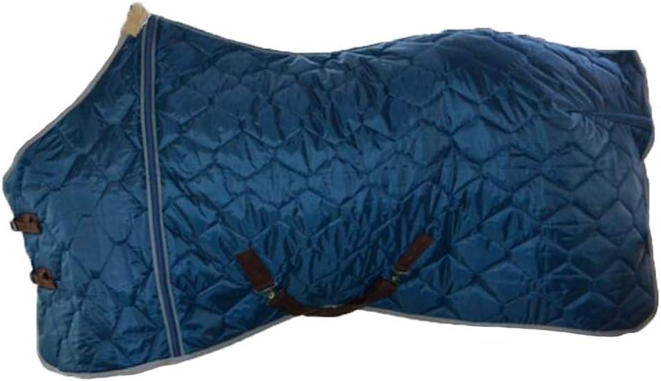 LGFV Silla de Montar Manta de Caballo Abrigo de Caballo Espesar Mantener Caliente Apto para el Cuidado Ecuestre