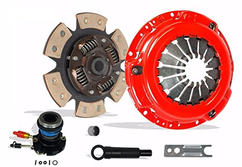Clutch And Slave Kit Works With Ranger Mazda Pickup XL XLT SE SX DS STX Troy Splash Base Edge 11/1994-2011 2.5L 2.3L Gas SOHC 3.0L V6 Gas OHV Naturally (6-Puck Clutch Disc Stage 3)