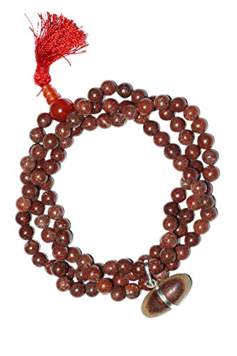 Mogul intérieur yoga Mala Perles Shiva Lingam Prière spirituel Méditation japamala poignet malás