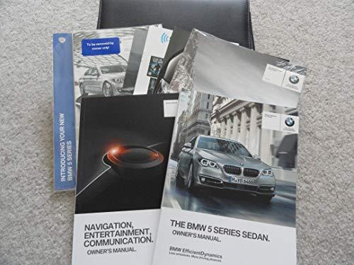 Original 2015 BMW 528i, 535i, 550i, 535d Owners Manual with Navigation
