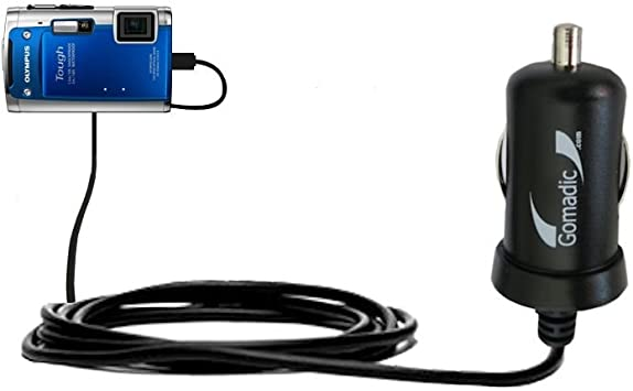 10W Power at Half The Size Gomadic Intelligent Compact Car//Auto DC Charger Suitable for The GoPro HERO5 Black 2A Uses Gomadic TipExchange Technology