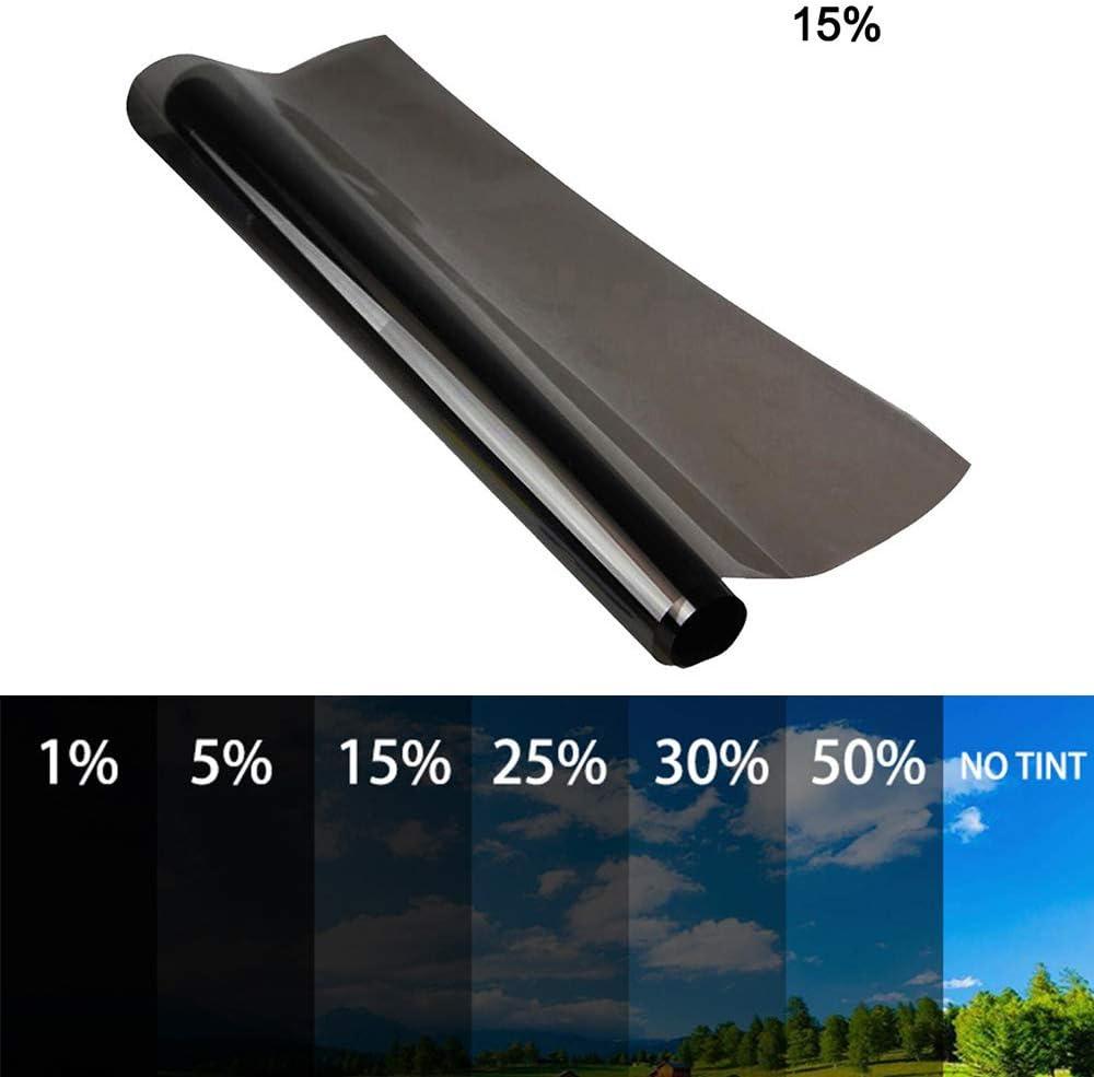 Rotolo di Pellicola Oscurante per finestrini Auto 0,5 x 6 m 50 x 600 cm 25/% Takefuns