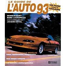 Guide de l'auto 1993 -le
