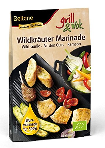 Beltane Bio grill&wok Wildkräuter Marinade (20 x 50 gr)
