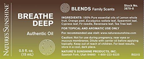 Breathe DEEP Essential Oil Blend 15 ml